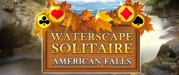 Waterscape Solitaire: American Falls - Traverse the US as you find the most beautiful falls in the country.