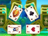 a square layout in Paradise Solitaire