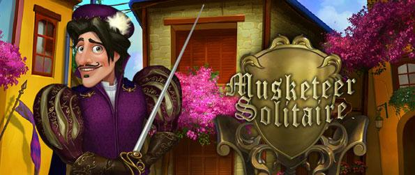 Musketeer Solitaire - Help the musketeer save the King and play your way through the beautiful scenes of France to prove your skills in more than 100 levels of pure solitaire!