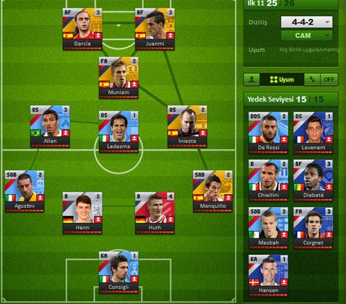 Manage Your Team in United Eleven