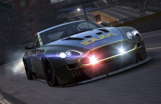 Evade Cops in Sports Cars in Need for Speed World