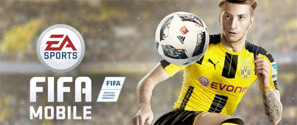 FIFA Mobile Soccer - Enjoy this addicting soccer game that you'll be able to enjoy for hours upon hours.