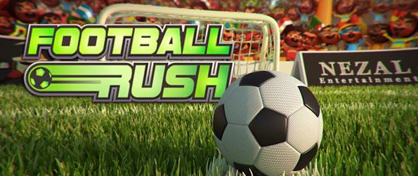 Football Rush - Get into the rush as you take on to the world soccer cups and passionately put your skills into play in this wonderful soccer game in Facebook.