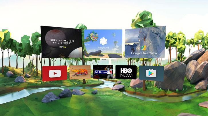 Daydream Home interface