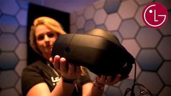 LG Steam VR HMD