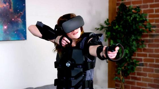 Ms Archer in Hardlight VR
