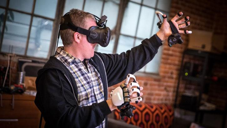 AVRG2  Dexmo VR Glove