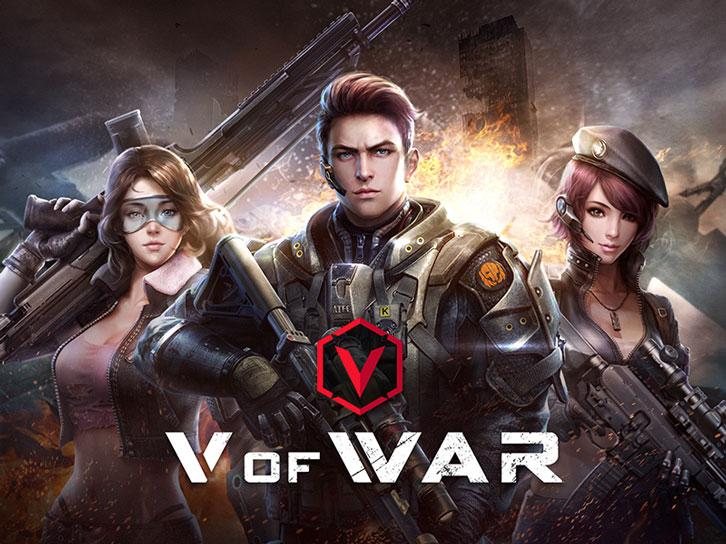 Introducing the eSports-Oriented VR FPS Game, V of War
