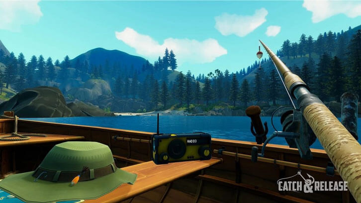 Metricminds Launches VR Fishing Game Catch & Release For Oculus Rift And HTC Vive