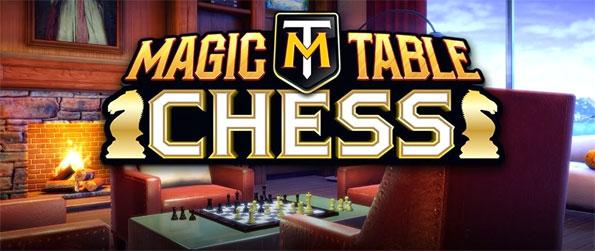 Magic Table Chess - Enjoy playing the classic strategy game of chess through the magic of virtual reality in Magic Table Chess!
