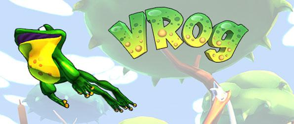 VRog - Play as a virtual frog and hop your way across a beautiful pond in VRog!
