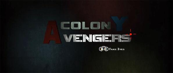 Colony Avengers - Enjoy an exhilarating 3 vs 3 FPS match in a surreal-looking arena in Colony Avengers!