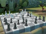 Chess Garden VR: Playing a game