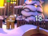 Merry Snowballs: Hitting a gingerbread man