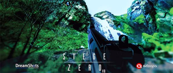 Siege Zero VR - Take control of a powerful siege gun and start shooting in Siege Zero VR!