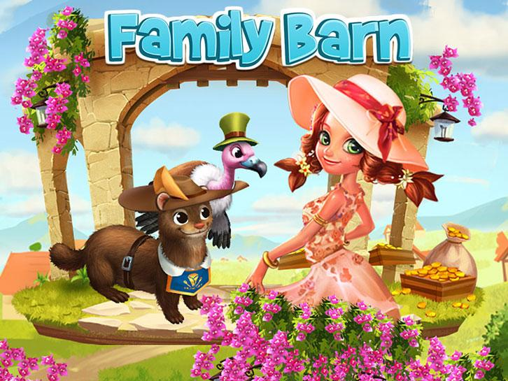 Family Barn: An Animal Hero