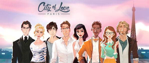 City of Love: Paris - Dive into the story of a young American woman who goes off to Paris in search of adventure.