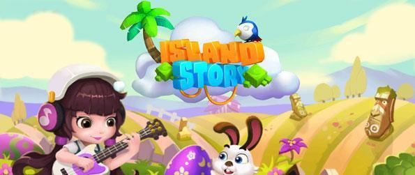 Island Story - Embark on a task to set up a farm in a beautiful tropical island in this fun-filled farm simulation game, Island Story!