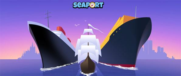 Seaport - Manage your own fleet of trading ships.