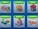 RollerCoaster Tycoon 4 Mobile marketplace