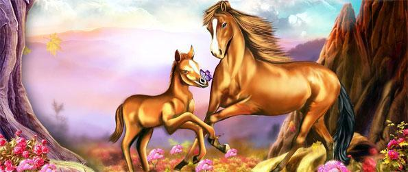 Horse Paradise - Dive into a fantastical world filled with horses, both normal and magical ones alike, in Horse Paradise!