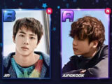 Collect cards in Superstar BTS