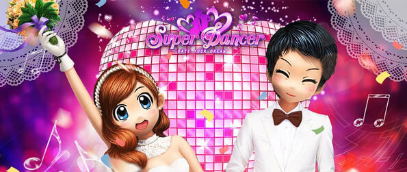 Super Dancer - Step to the groove and work on your dancing skills in Super Dancer!