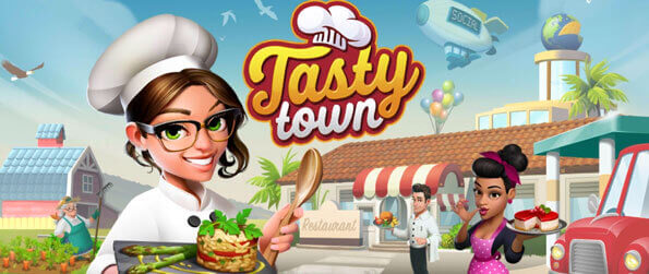 Tasty Town - Grow your own ingredients, cook delicious cuisines from around the world, and serve them to your customers in Tasty Town!