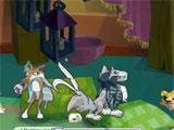 Animal Jam Pillow Room