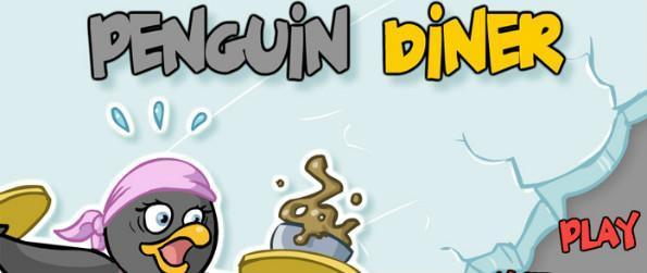 Penguin Diner - Help Penny the Penguin find her way back home in this fun time management game, Penguin Diner!