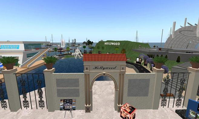 Hollywood in Second Life