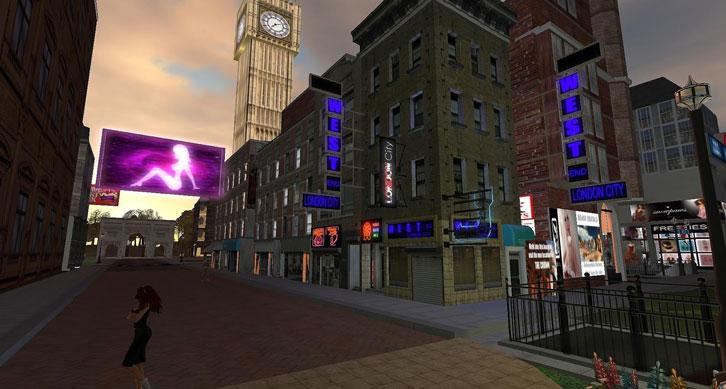 Second Life: West London City