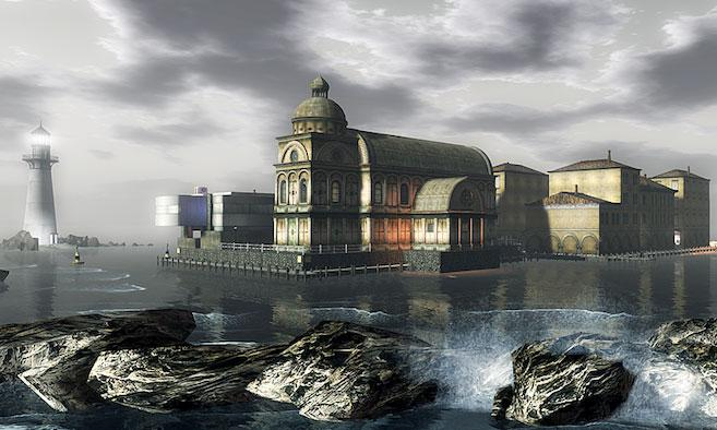 Basilique in Second Life