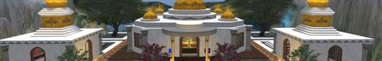 Virtual Worlds Land - Virtual Spiritual Centers in Second Life