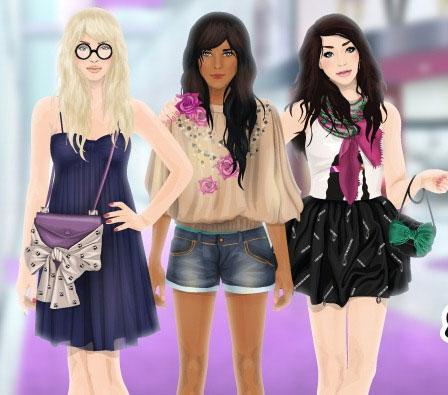 Shopping with Friends in Stardoll