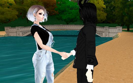 Make Friends Online in IMVU