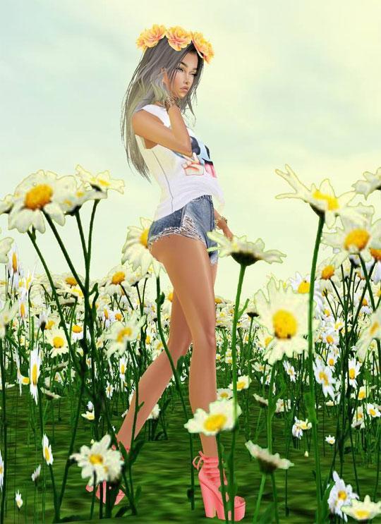 Enjoy Spring in IMVU