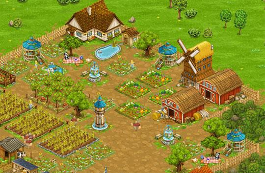 Enjoy the Amazing Big Farm