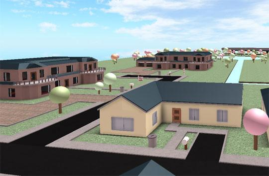 The Suburbs of Roblox