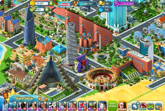 Virtual Games Online - Virtual Worlds Land! Rising Cities