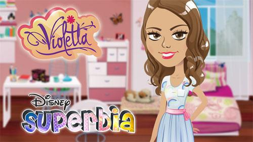 Violetta in Disney Superbia