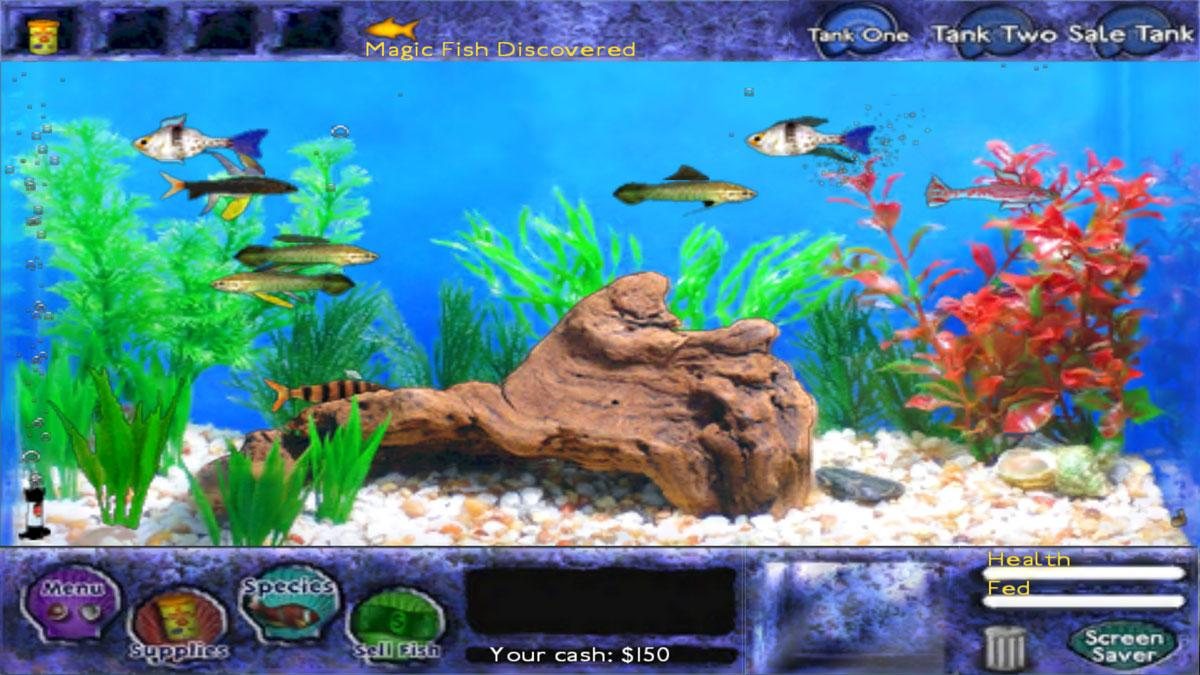 Fish tycoon review virtual worlds land for Fish tycoon games