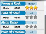 Rock Hero 2 picking a song