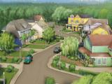 Wisteria Lane in The Desperate Housewives: The Game