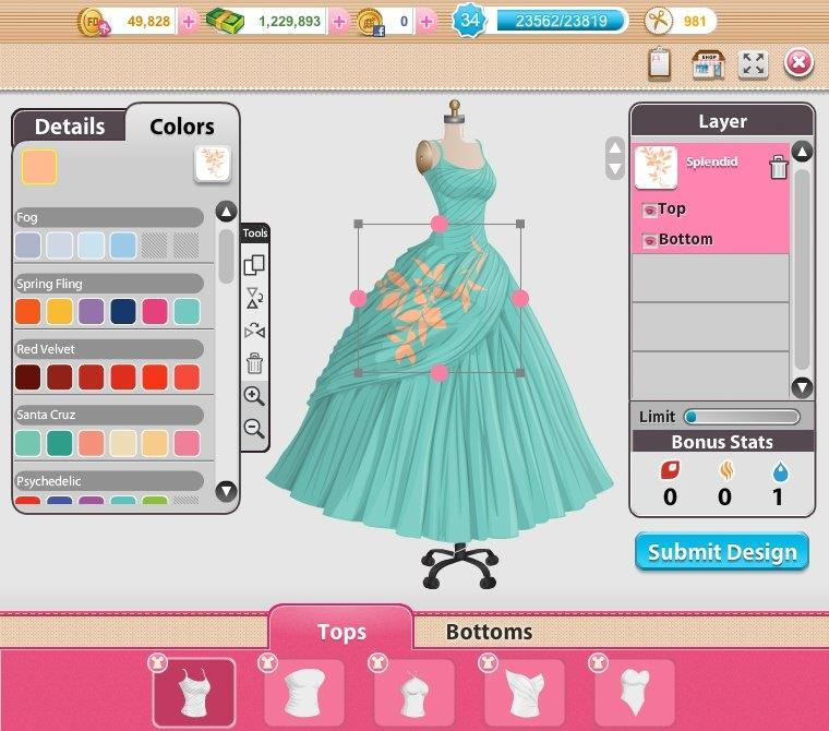 Design Your Own Dress Games Online For Free