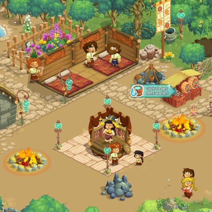 how to get more food in virtual villagers origins
