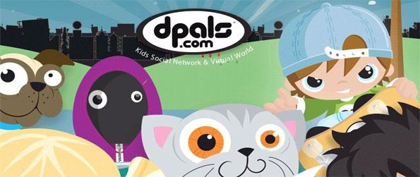 dPals  - Enter a stunning childrens virtual world full of fun and games.