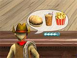 Burger Shop: Customer Placing Order
