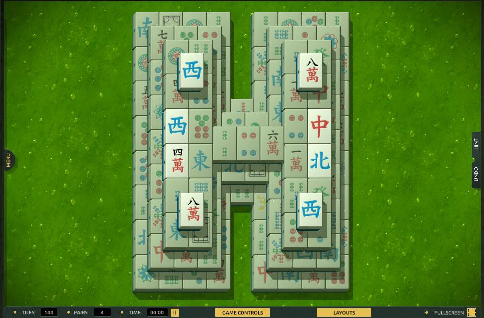 H for Haga in TheMahjong.com