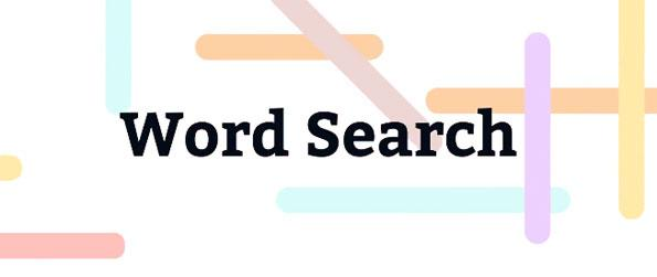 Word Search - Test out your vocabulary skills in the amazing Word Search.